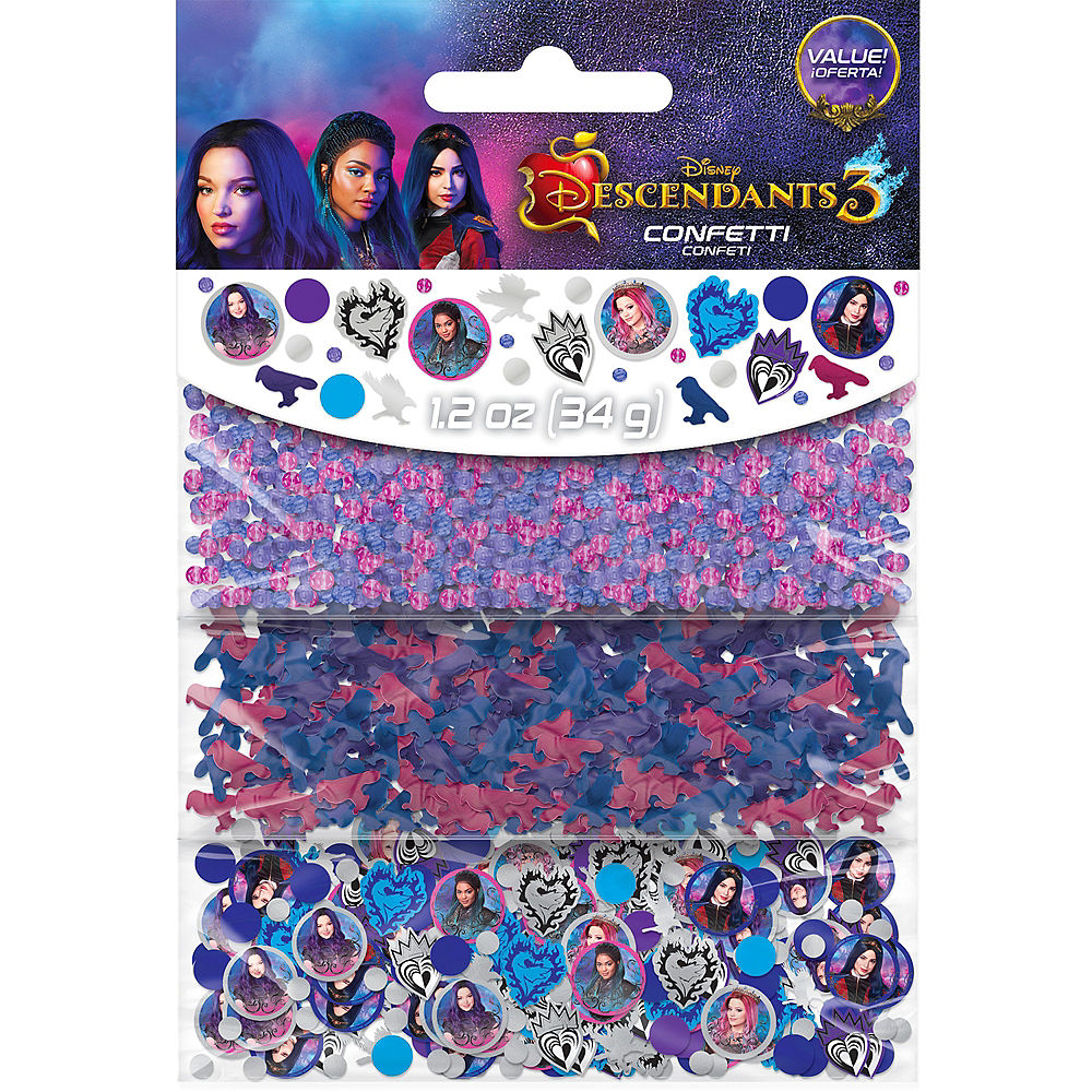 Descendants 3 Confetti