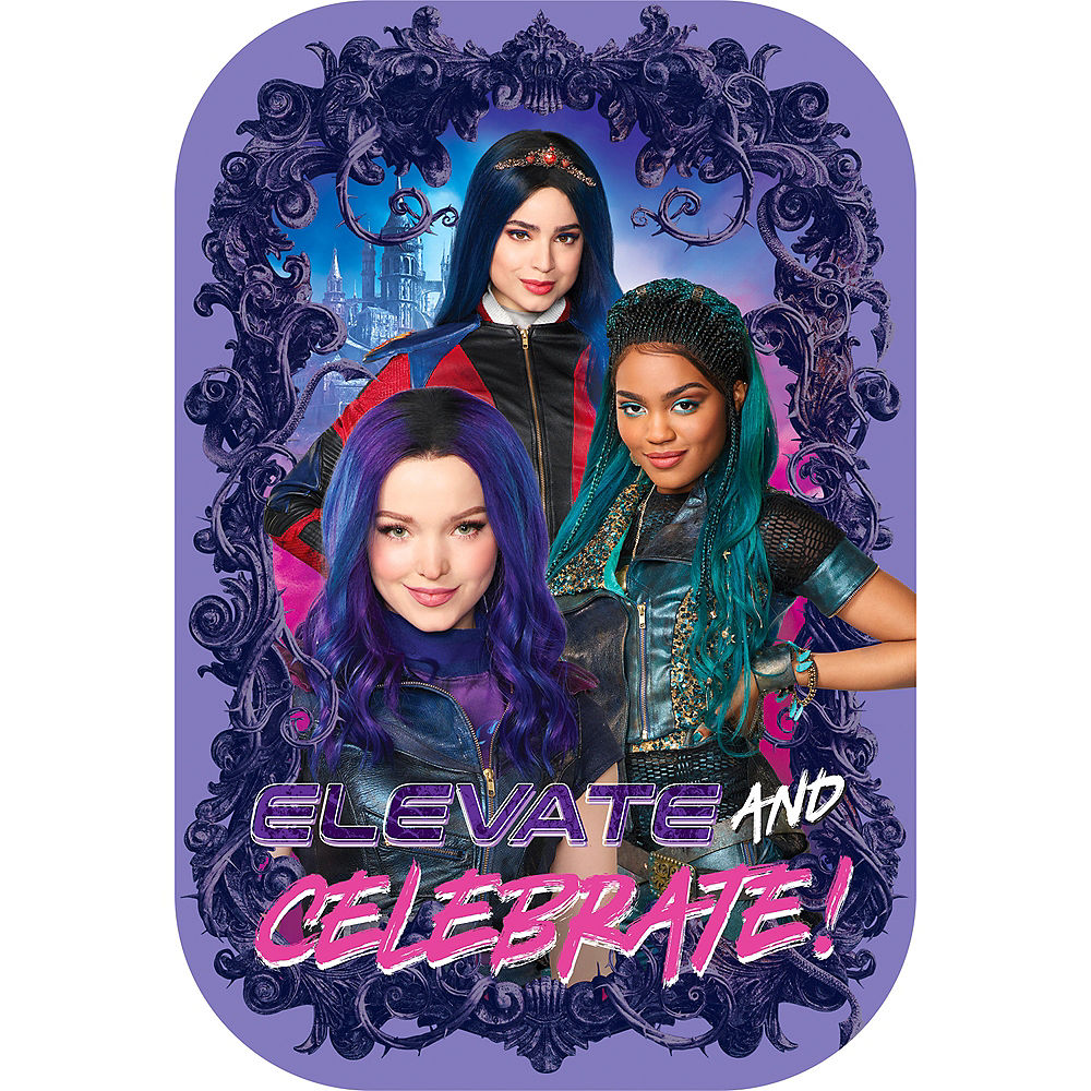 Descendants 3 Invitations