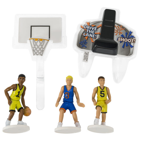 Basketball Cake Kit - CAKE DECORATIONS - Party Supplies - America Likes To Party
