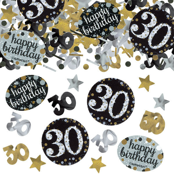30th Sparkling Celebration Confetti - SPARKLING CELEBRATION - Party Supplies - America Likes To Party