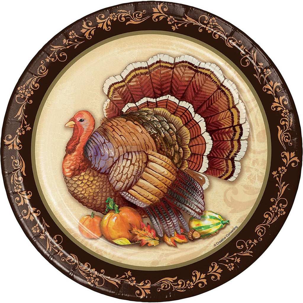 Thanksgiving Splendor Dessert Plates