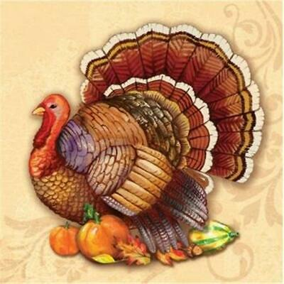 Thanksgiving Splendor Beverage Napkins