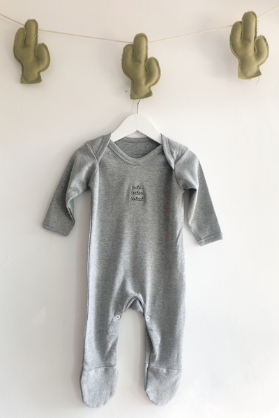 Cute Grey Romper
