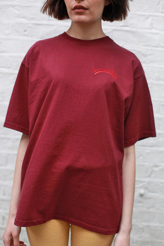 Chase Rainbows Burgundy Tee
