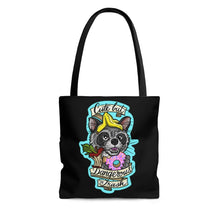 Cute but Dangerous Trash Raccoon Tote Bag