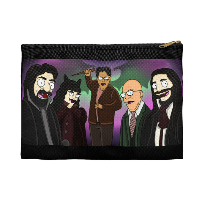 What We Do In The Shadows Bob's Burgers Mashup Accessory Pouch