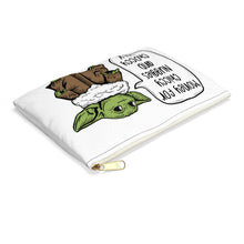 Bebe Yoda Chiccy Nuggies Choccy Milk Accessory Pouch 2 sizes