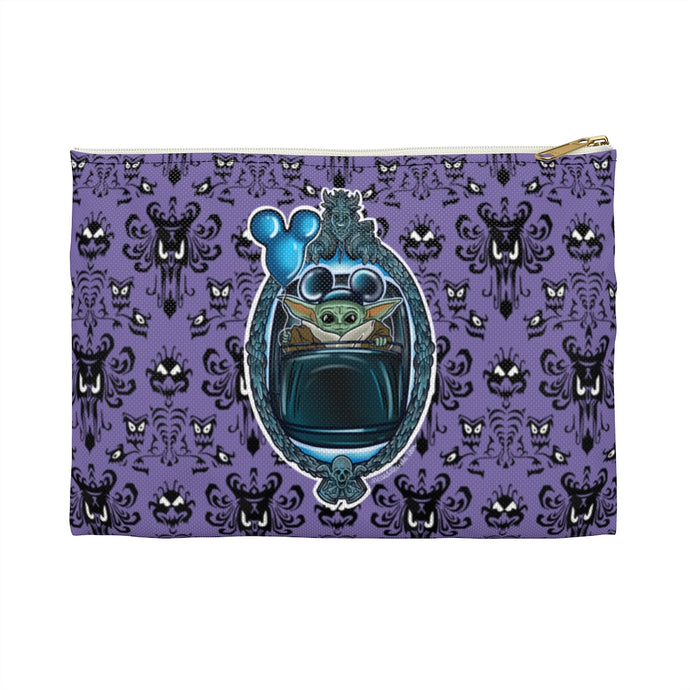 Baby Yoda Haunted Mansion Accessory Pouch 2 sizes