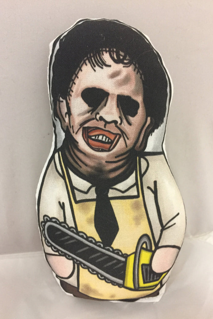 Leatherface from The Texas Chainsaw Massacre Plush Toy : Classic Movie Killers Series 1