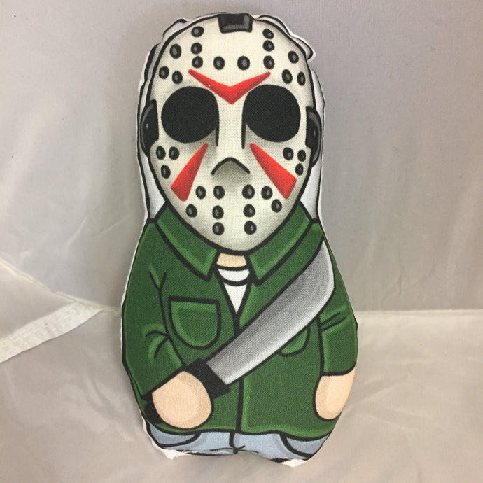 Jason Vorhees from Friday the 13th Plush Doll : Classic Movie Killers Series 1