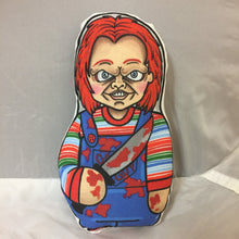 Chucky from Childs Play Plush Doll Bloody Variant : Classic Movie Killer Series 1
