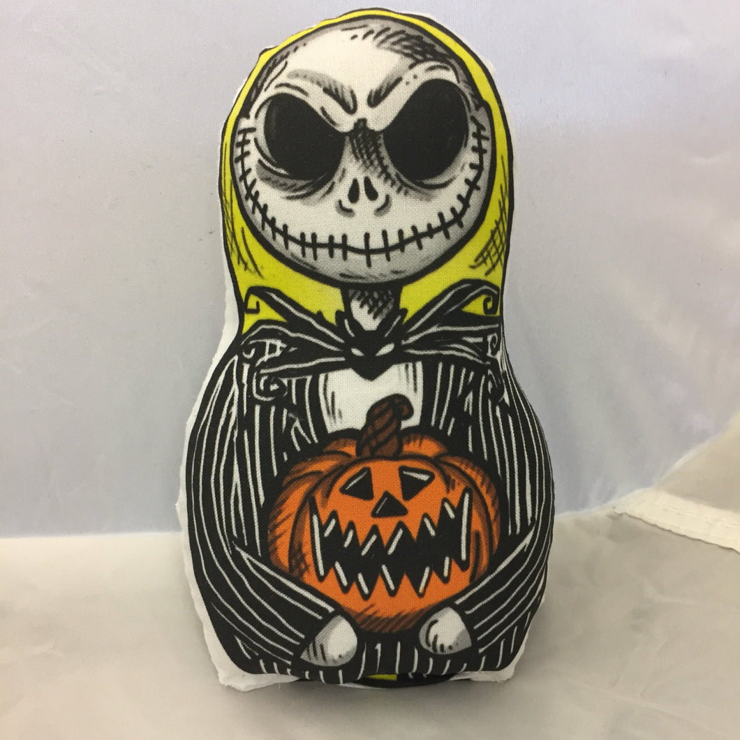 Jack Skellington inspired Plush Doll  or Ornament : Nightmare Before Christmas