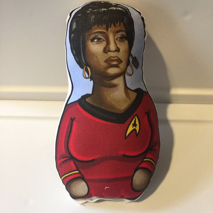 CLEARANCE Lt. Uhura from Star Trek Inspired Plush Doll or Ornament