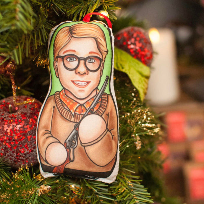 Ralphie Christmas Story Inspired Plush Doll or Ornament
