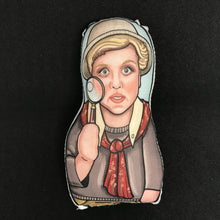 Angela Lansbury as Jessica Fletcher from Murder She Wrote Inspired Plush Doll or Ornament
