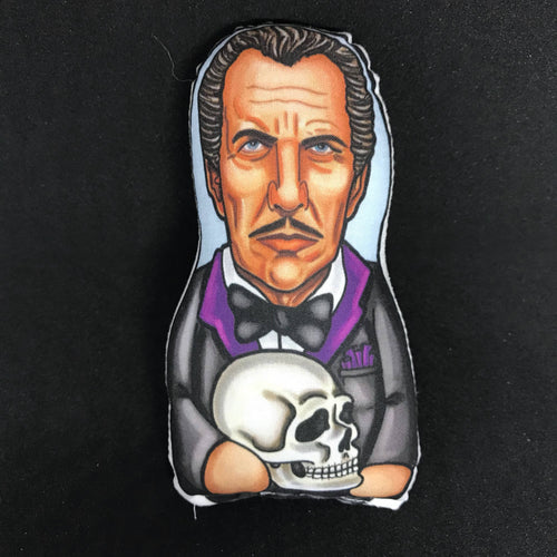 Vincent Price Inspired Plush Doll or Ornament