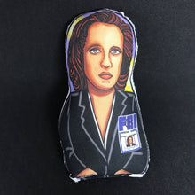 Dana Scully X-Files Inspired Plush Doll or Ornament