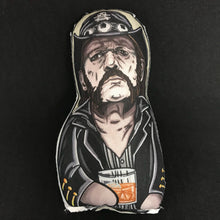 Lemmy of Motorhead Inspired Plush Doll or Ornament