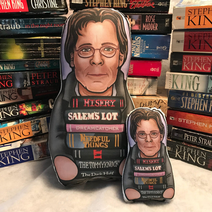 Stephen King Inspired Plush Doll or Ornament