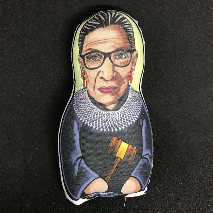 Ruth Bader Ginsburg Inspired Plush Doll  or Ornament