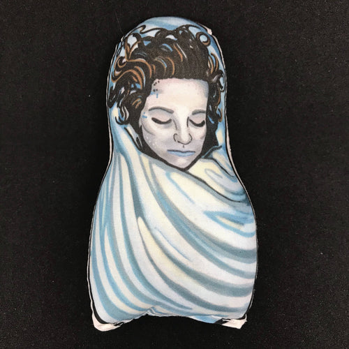 Laura Palmer Dead and Alive Twin Peaks Inspired Plush Doll or Ornament