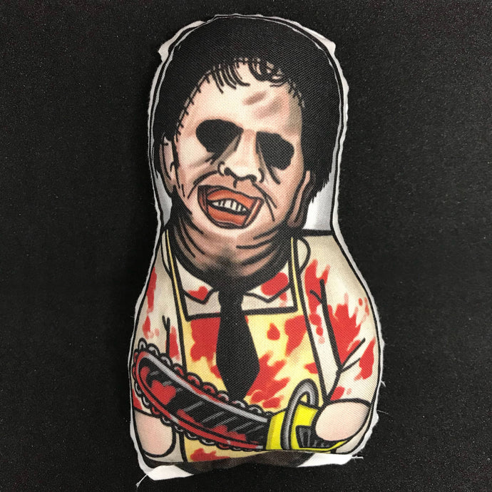 Leatherface from Texas Chainsaw Massacre Plush Doll Bloody Varient : Classic Movie Killer Series 1