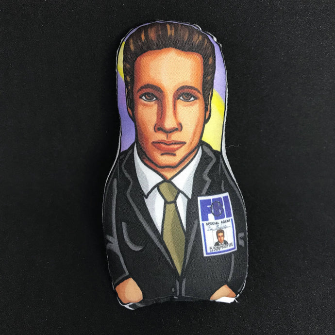 Fox Mulder X-Files Inspired Plush Doll or Ornament