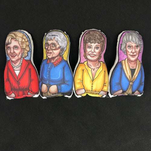 Golden Girls Inspired Plush Doll or Ornament Set