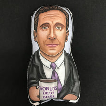 Michael Scott of The Office Inspired Plush Doll or Ornament