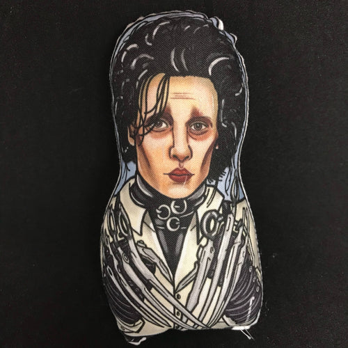 Edward Scissorhands Inspired Plush Doll or Ornament