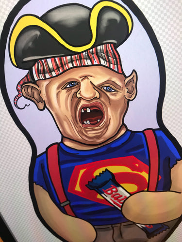 Sloth The Goonies Inspired Plush Doll or Ornament