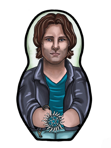 Sam Winchester Inspired Plush Doll or Ornament