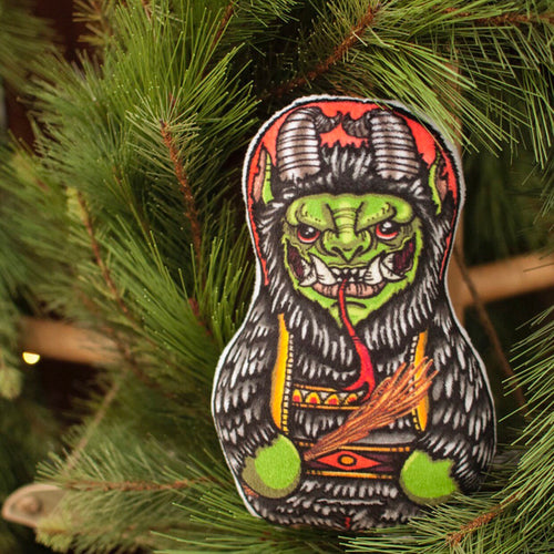 Limited Edition Krampus Minky Plush toy/Ornament
