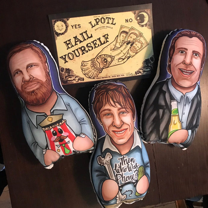 Last Podcast on the Left Henry Ben Marcus set Inspired Plush Doll or Ornament