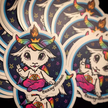 Cutie Baphomet Rainbow Sticker or Limited Edition Plush Doll