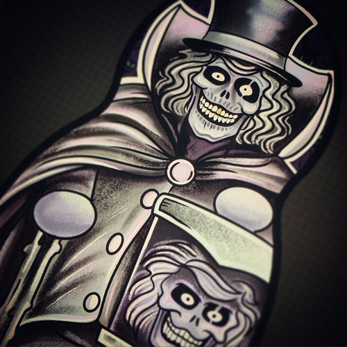 Haunted Mansion Hatbox Ghost Inspired Plush Doll or Ornament