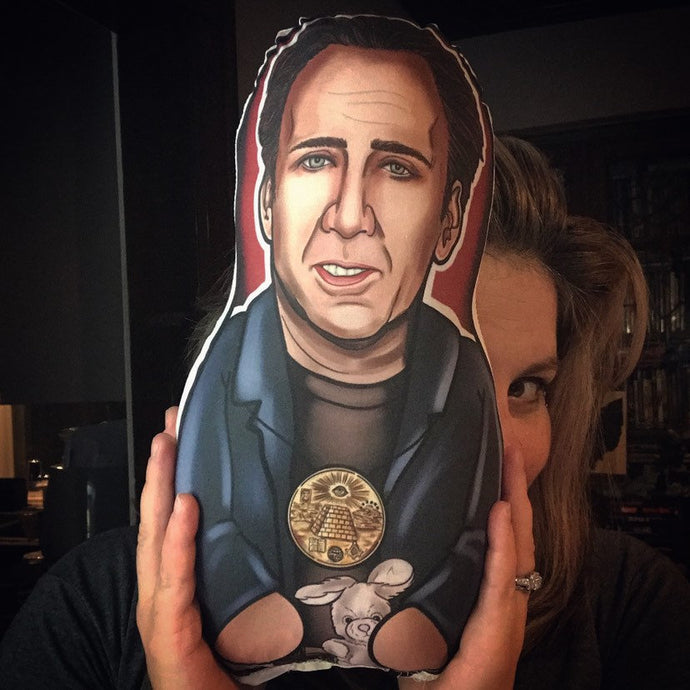Nicolas Cage Inspired Plush Doll or Ornament