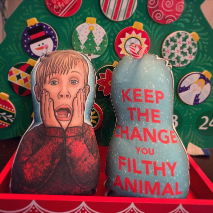 Kevin Home Alone Inspired Plush Doll or Ornament