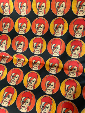 David Bowie Ziggy Stardust Pleated face Masks