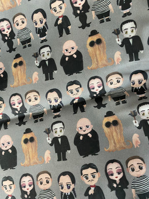 Cutie Addams Family Pleated face Masks