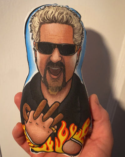 Guy Fieri FLAVORTOWN Inspired Plush Doll or Ornament