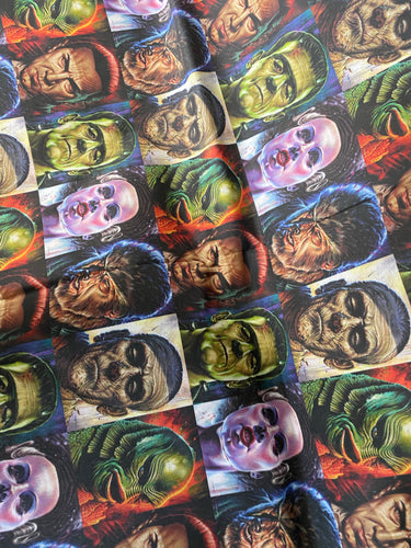 Universal Monsters Horror Movie Pleated face Masks