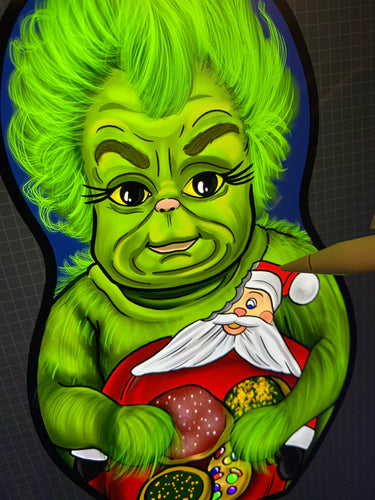 Preorder Baby Grinch Minky Plush toy/Ornament