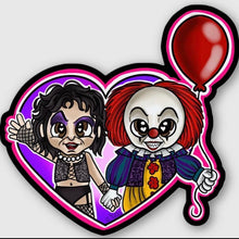 Happy Horror Hearts Stickers