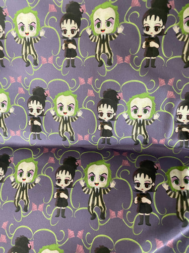 Cutie Beetlejuice Pleated face Masks