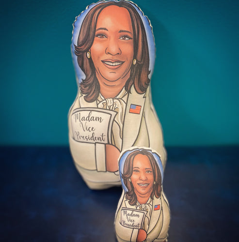 Kamala Harris Inspired Plush Doll or Ornament