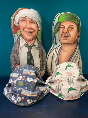 National Lampoon Christmas Vacation Holiday Pleated face Masks: Three Designs