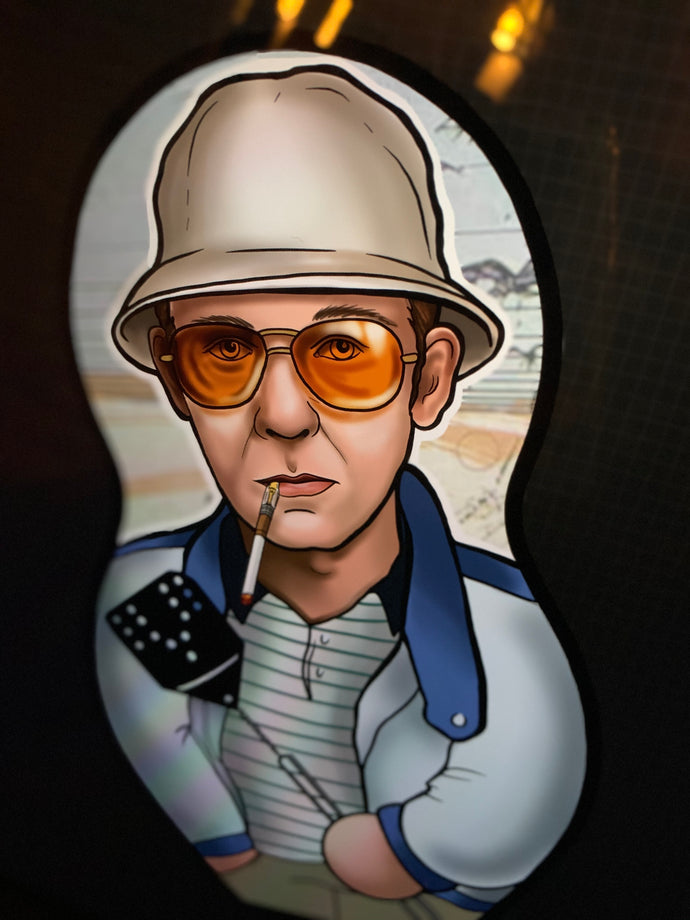 PREORDER Hunter S Thompson Inspired Plush Doll or Ornament