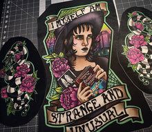 Limited Edition Velvet Beetlejuice Lydia Deetz back patch Sandworms