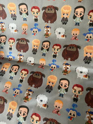 Cutie Labyrinth characters Pleated face Masks